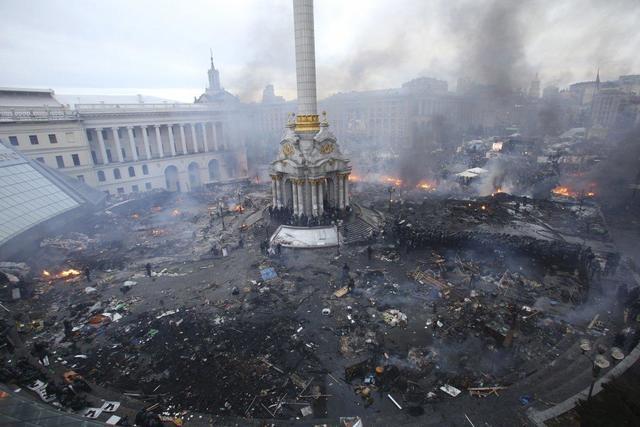 Спаленный Киев